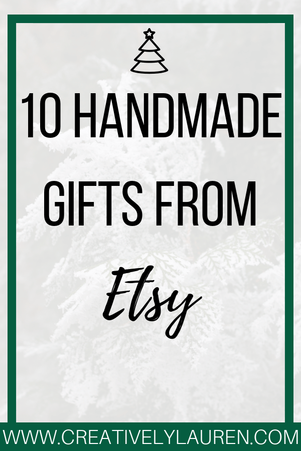 10 Handmade Gifts From Etsy