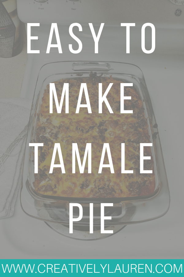 Easy to Make Tamale Pie