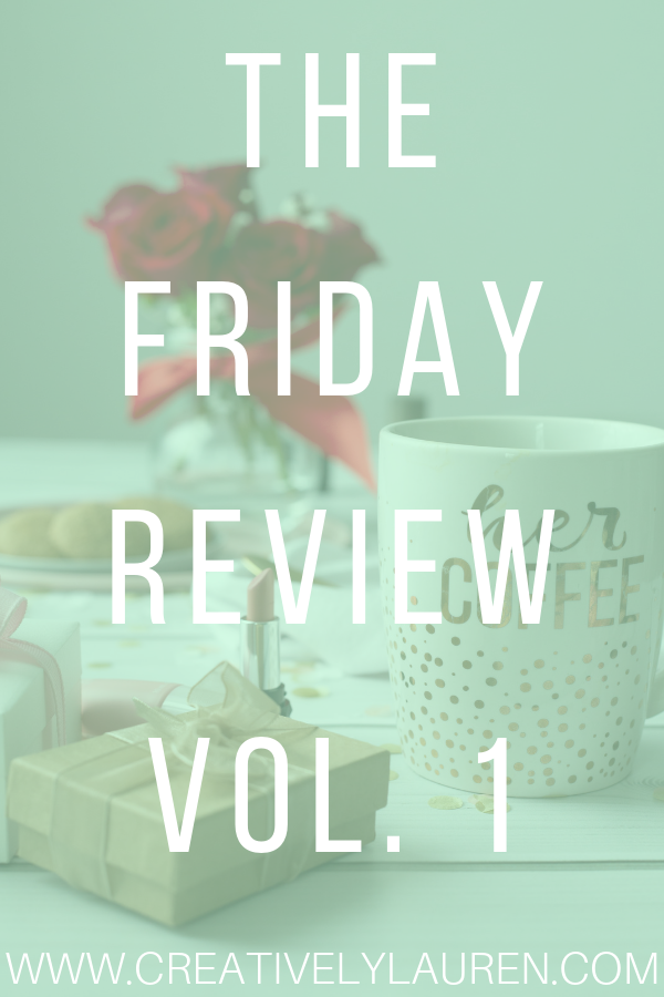 The Friday Review, Vol. 1