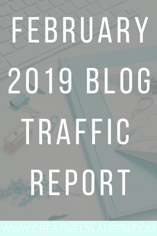 February 2019 Blog Traffic Report
