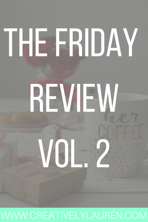 The Friday Review, Vol. 2