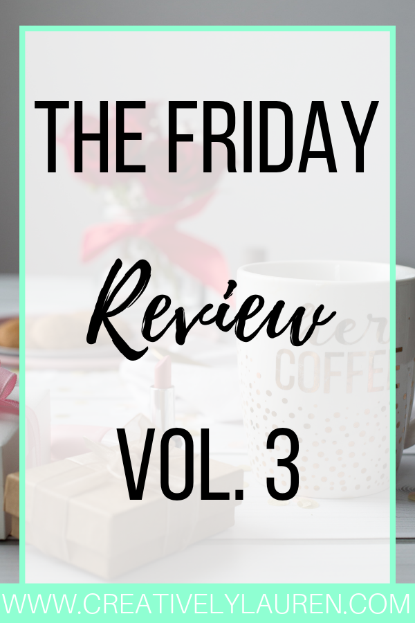 The Friday Review, Vol. 3