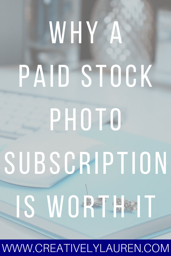 Why a Paid Stock Photo Subscription is Worth It