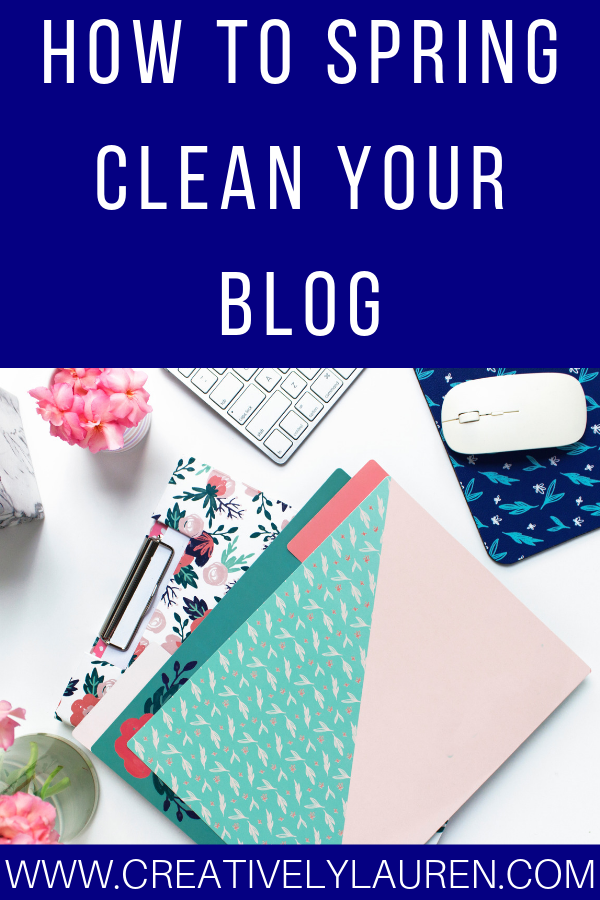 How to Spring Clean your Blog