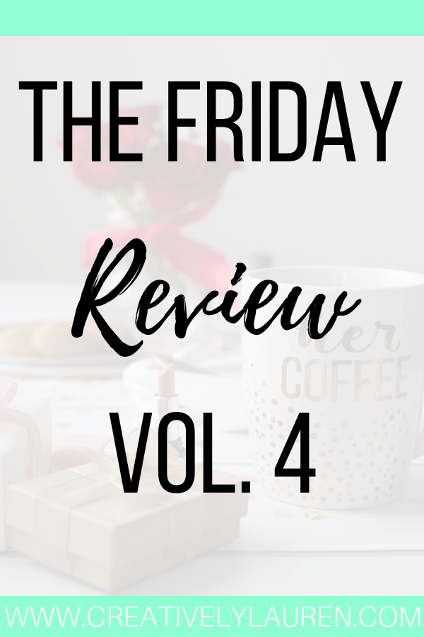 The Friday Review, Vol. 4
