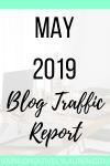 May 2019 Blog Traffic Report