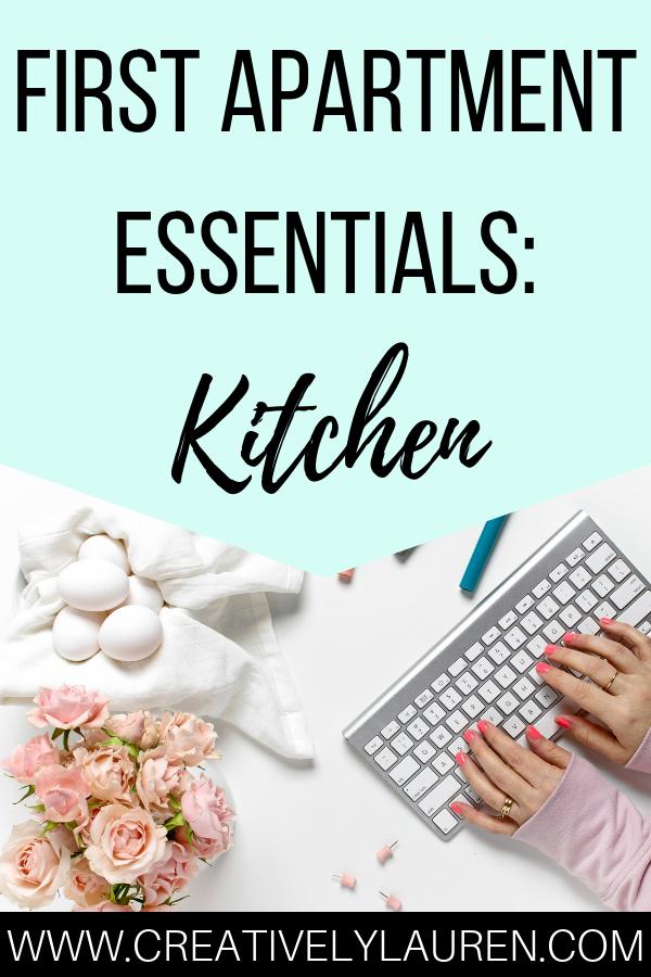 First Apartment Essentials: Kitchen – Apartment